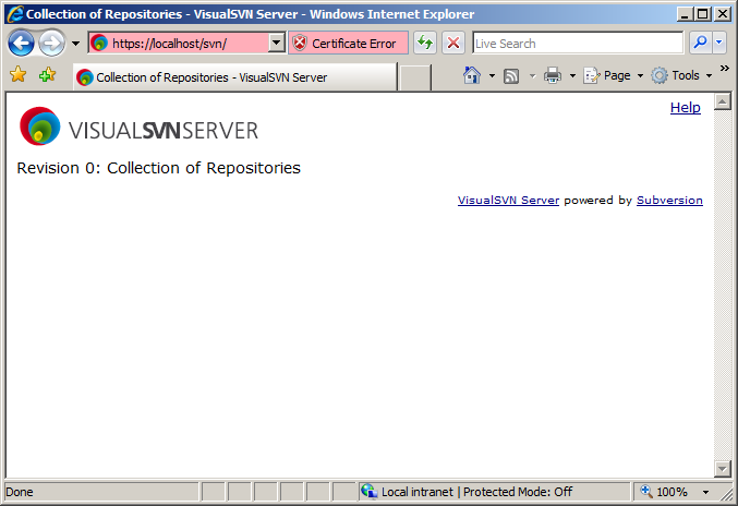 How to set up WebSVN on VisualSVN Server on Windows Server