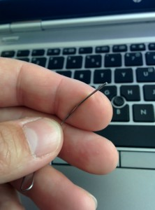 Paperclip reset