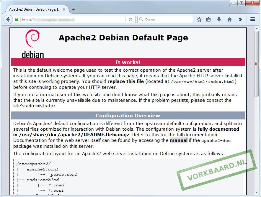 Site accessible via HTTPS