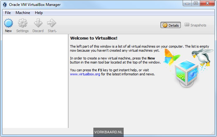Set up a testlab in VirtualBox with a virtual LAN | Vorkbaard uit de
