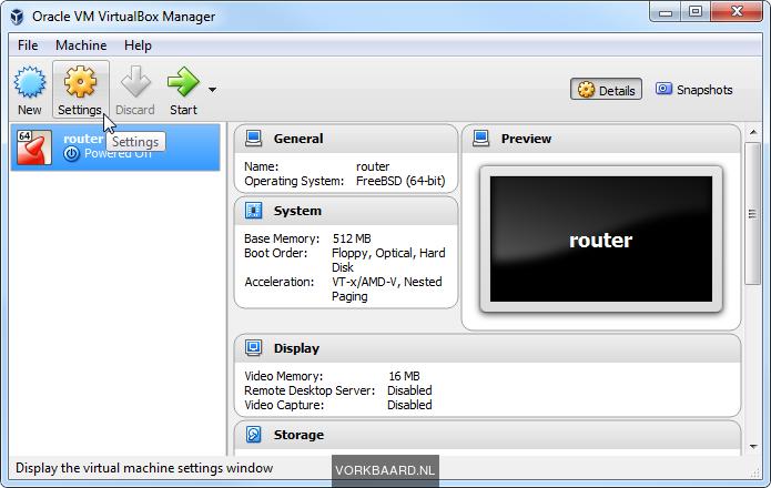 Set up a testlab in VirtualBox with a virtual LAN | Vorkbaard uit de