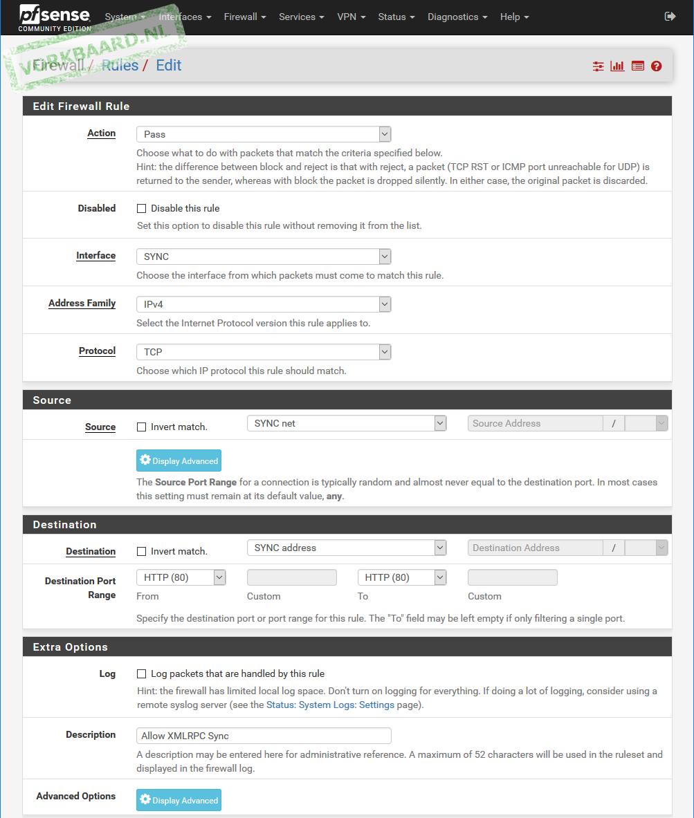 How to set up PfSense High Availability (hardware redundancy