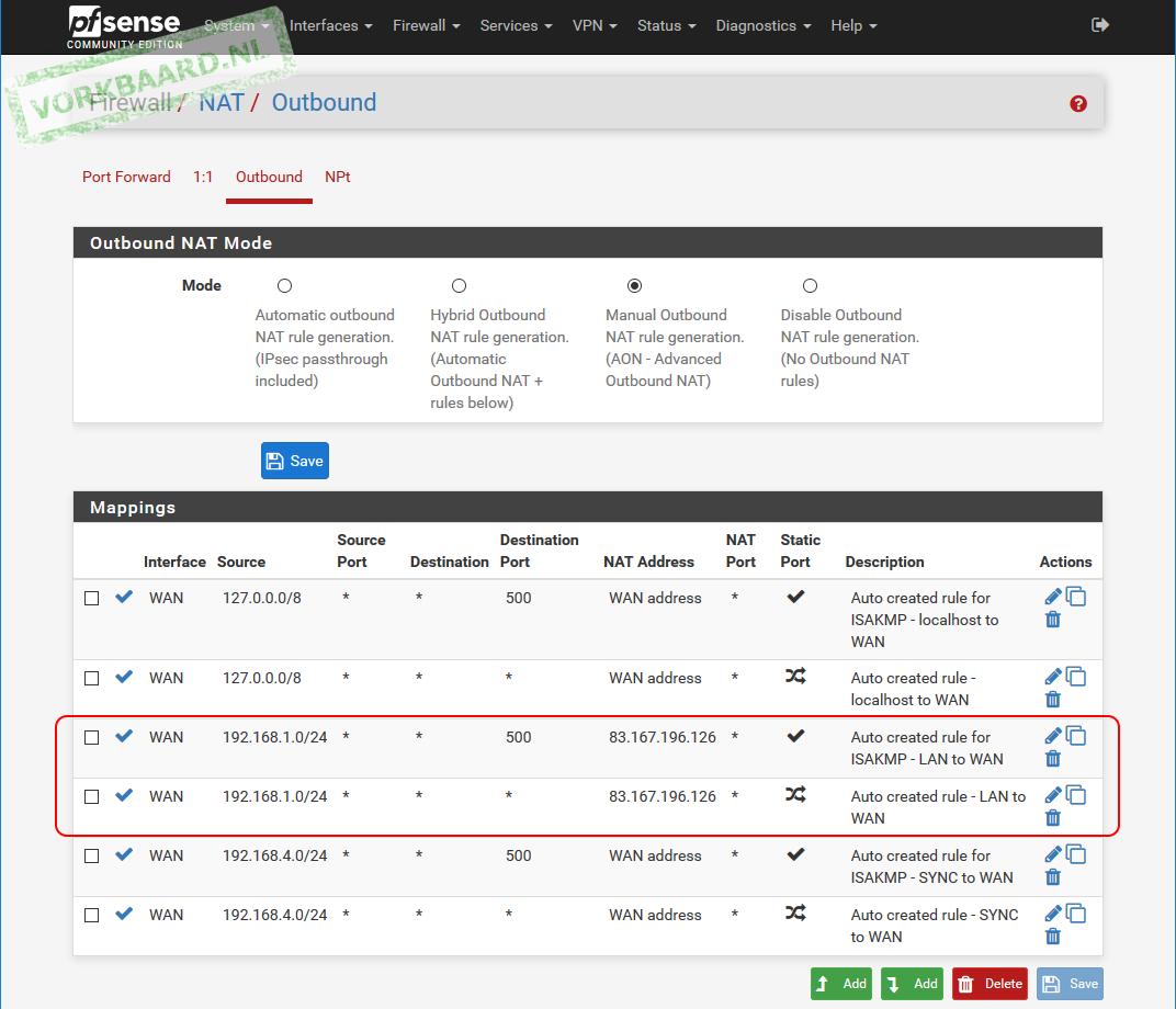 OpenVPN in a pfSense CARP cluster | Vorkbaard uit de toekomst