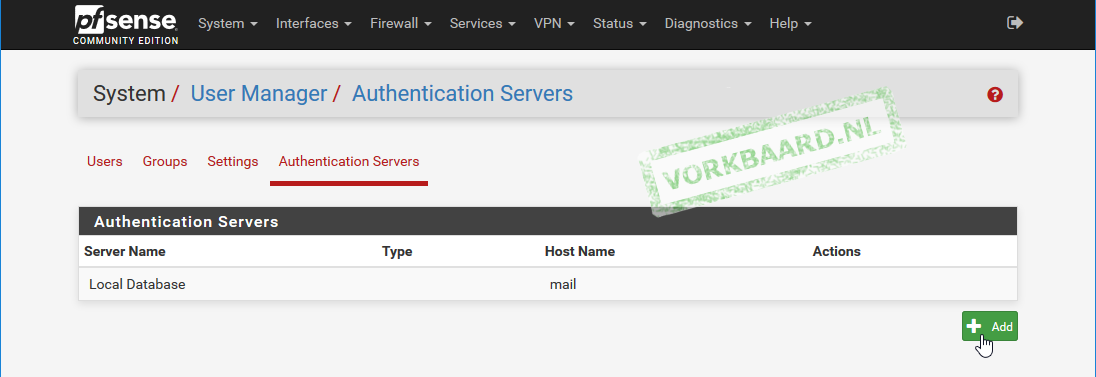 Set up OpenVPN on PfSense with user certificates and Active