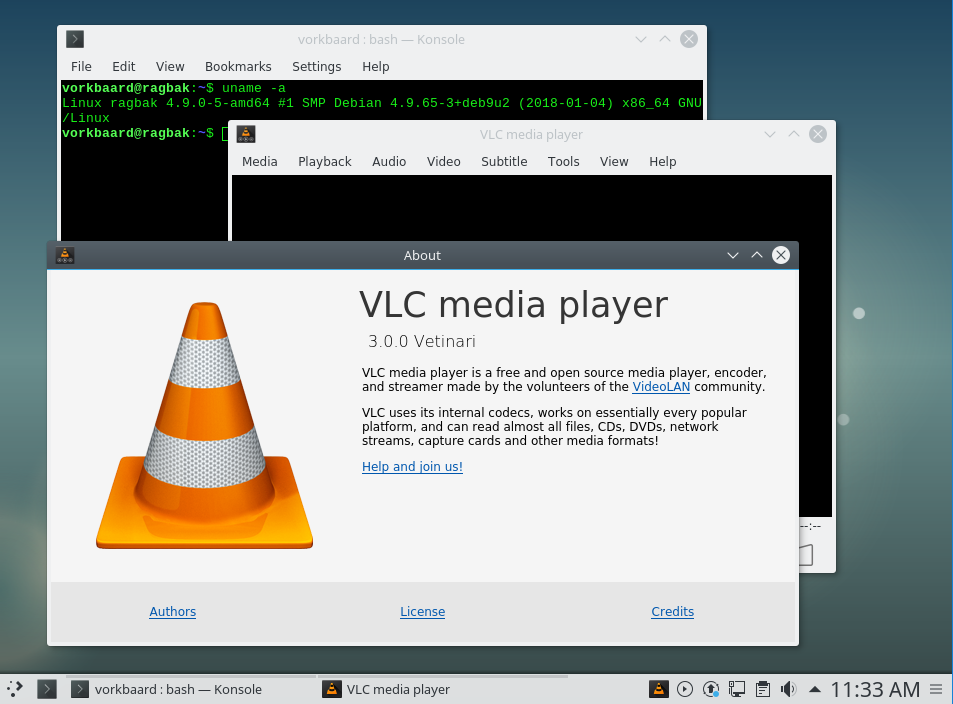 How to install VLC 3 on Debian 9 (Stretch) | Vorkbaard uit de toekomst